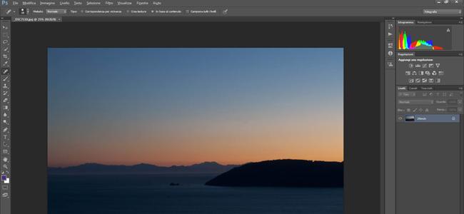 interfaccia Photoshop