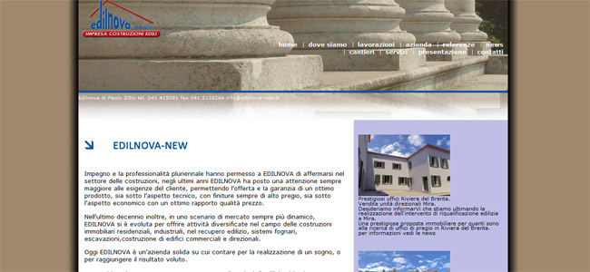 sito web edilnova new