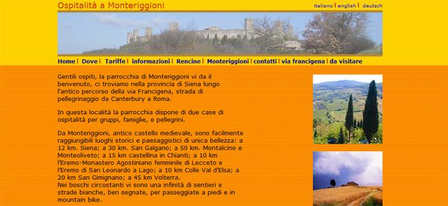 sito web monteriggioni