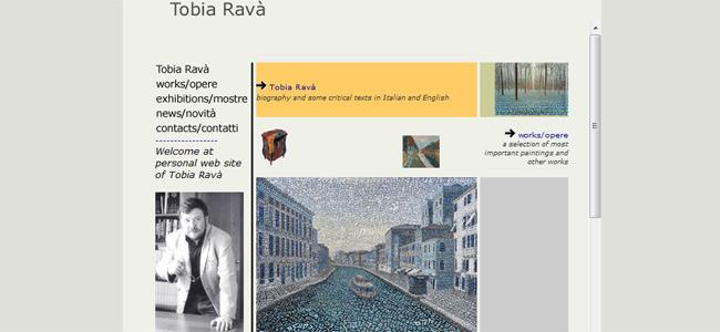 sito web Tobia Ravà
