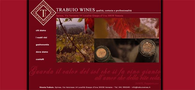 sito web trabuio wines