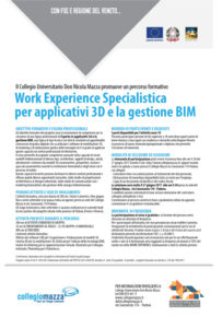 Locandina work experience BIM collegio Mazza small