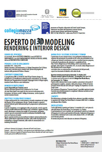 locandina 3D modeling s